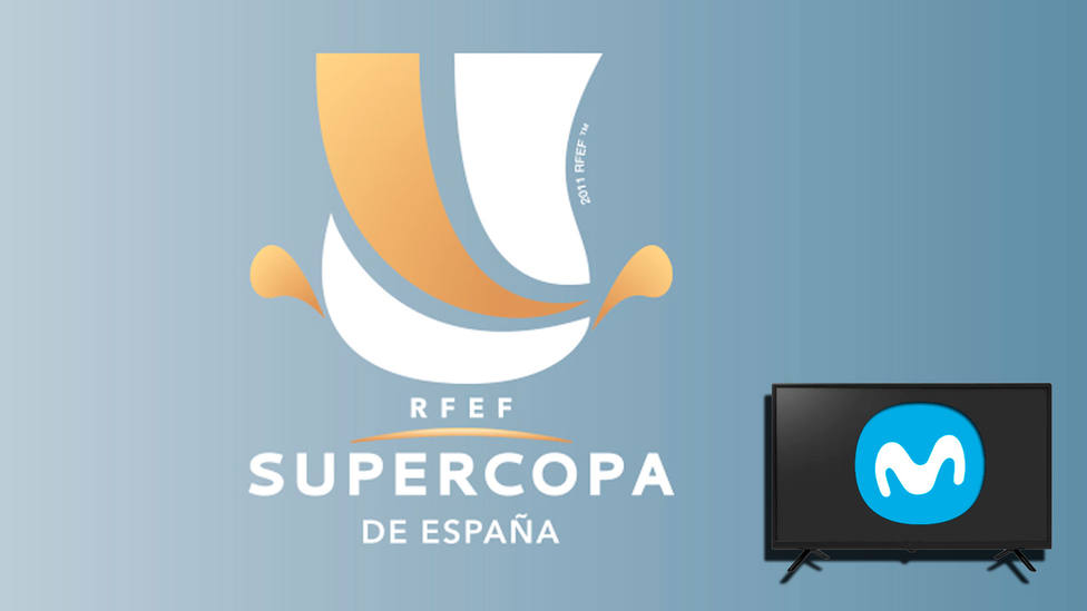 La Supercopa de España podrá verse por Movistar