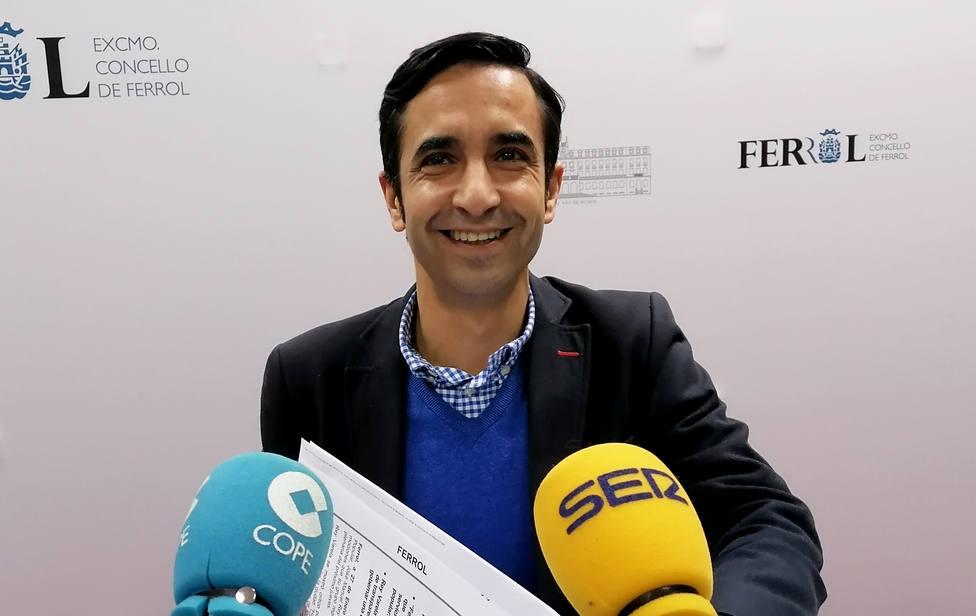 José Manuel Rey Varela, portavoz del grupo municipal del PP en el Ayuntamiento de Ferrol