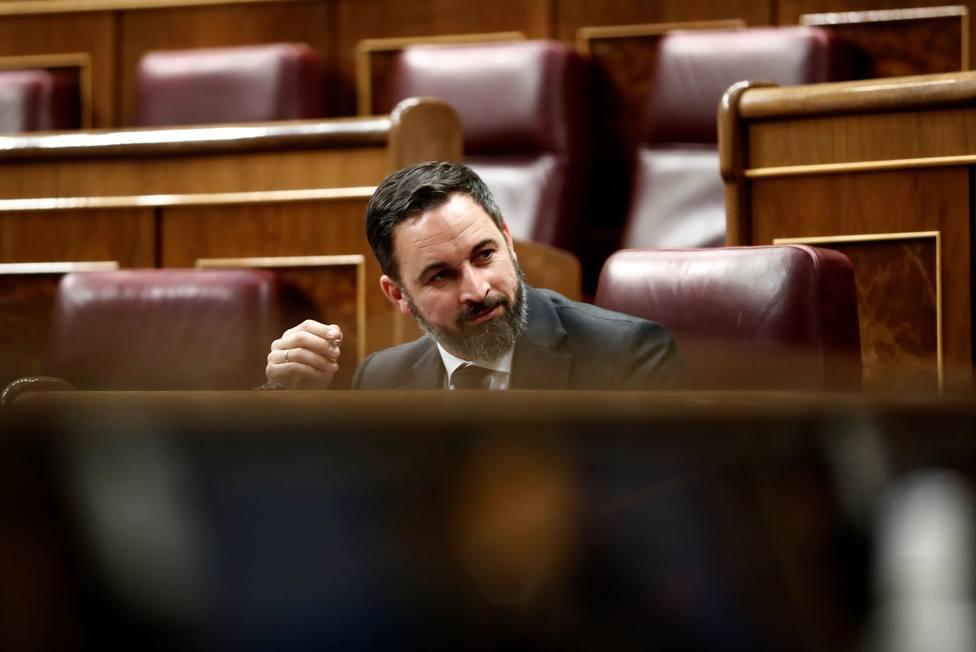 Abascal insta a Sánchez a no salir más en televisión hasta poder garantizar medios para combatir el virus