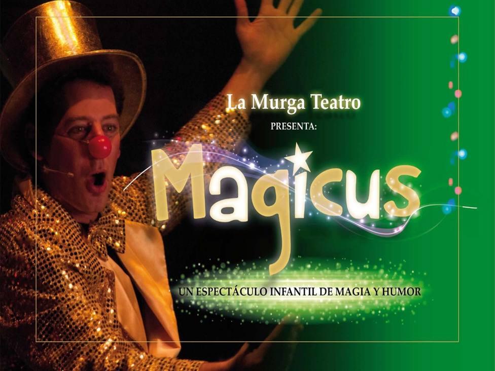 Con 'Magicus' de La Murga Teatro se cierra el ciclo para el público infantil del Cartagena es Cultura