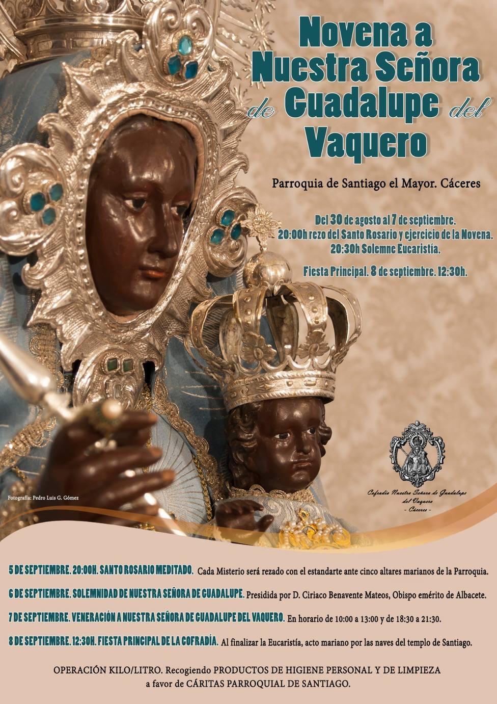Comienzan los cultos a la Virgen de Guadalupe del Vaquero
