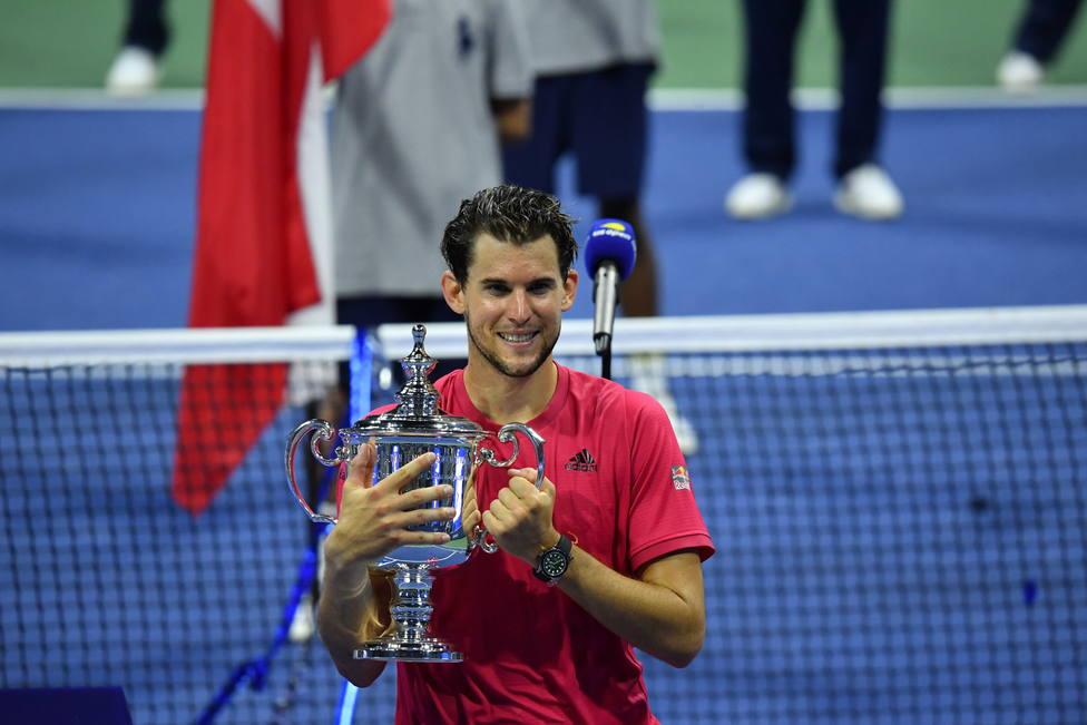 Thiem se proclama campeón del US Open, tras remontar dos sets a Zverev