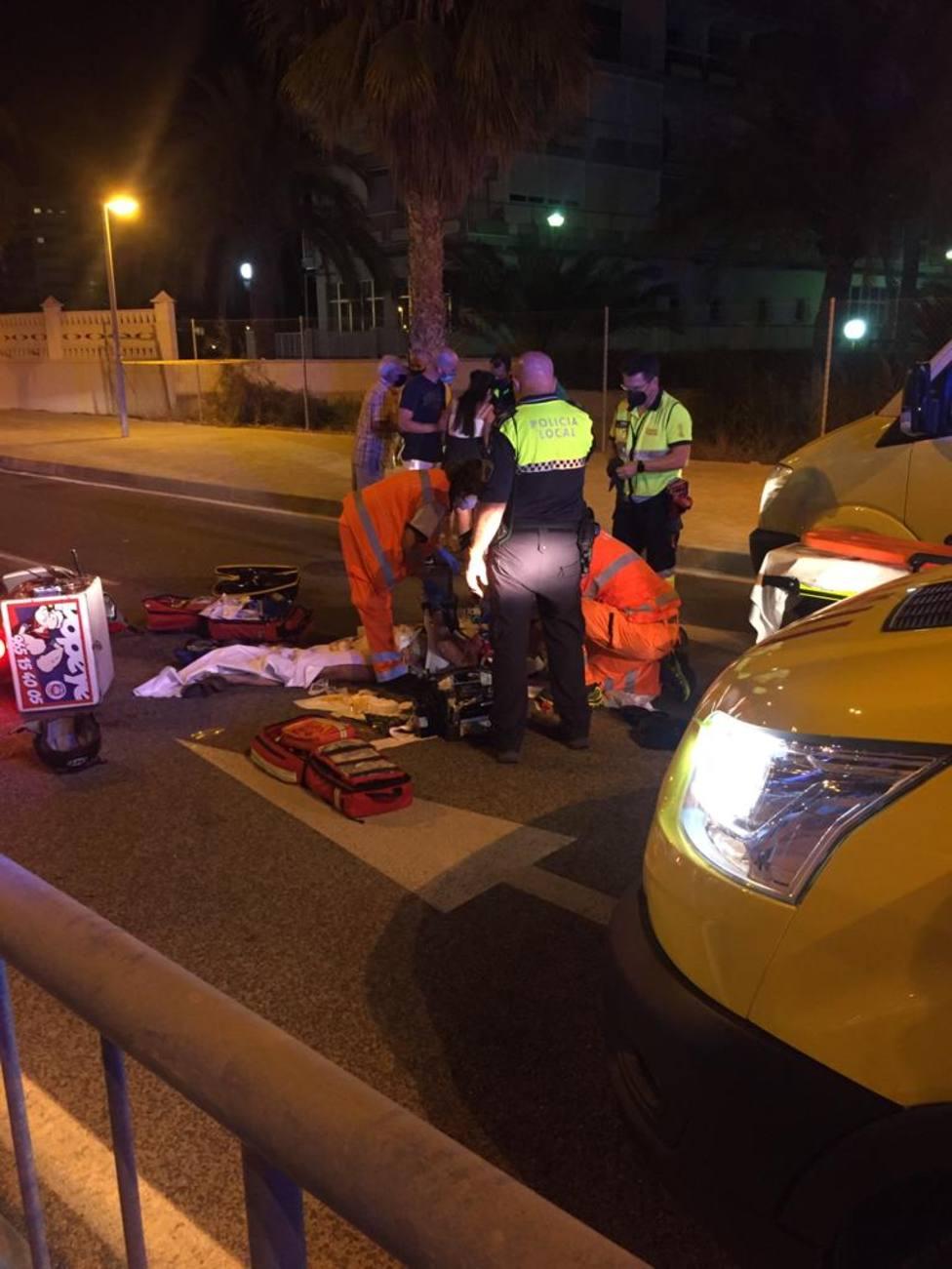 Imagen del accidente (Ayuntamiento)