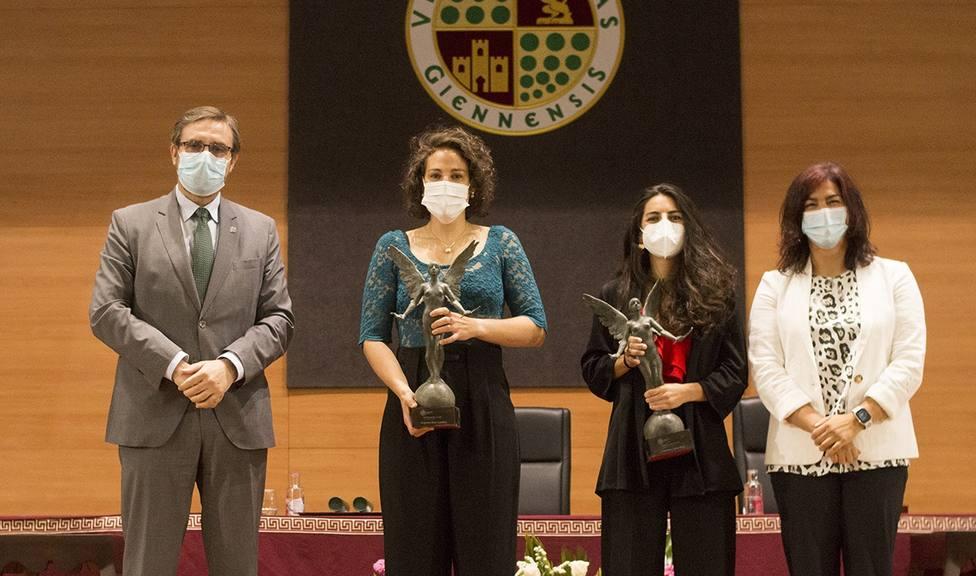 Carmen Cano y María de los Ángeles Ruiz reconocidas por la UJA como Natural de Jaén