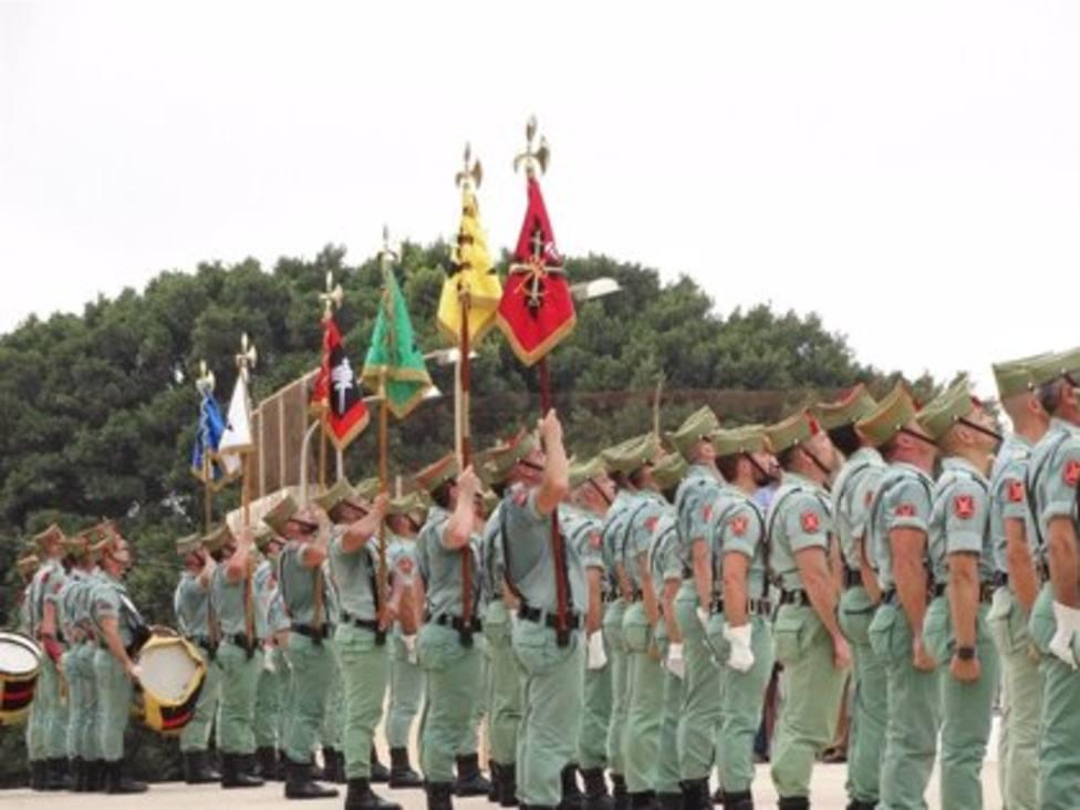 La Legión cumple cien años combatiendo en la extrema vanguardia