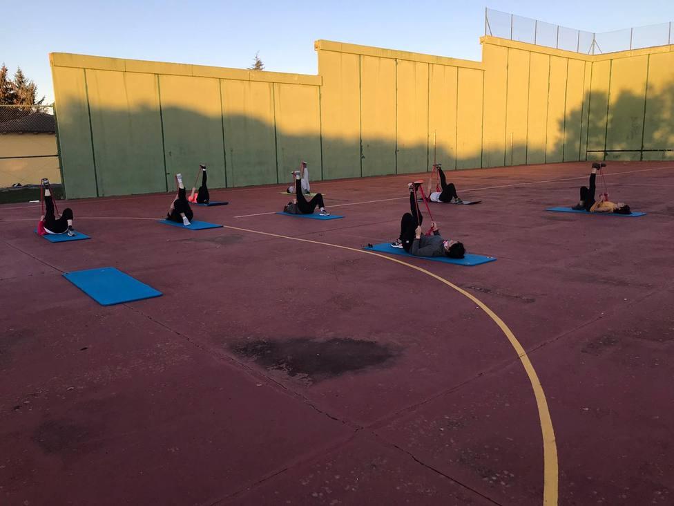 Actividades deportivas en Berdún