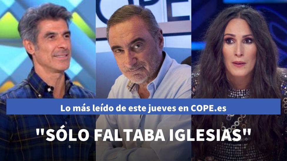 Herrera y su opinión sobre el papel de Marlaska en la crisis de Canarias, entre lo más leído de este jueves