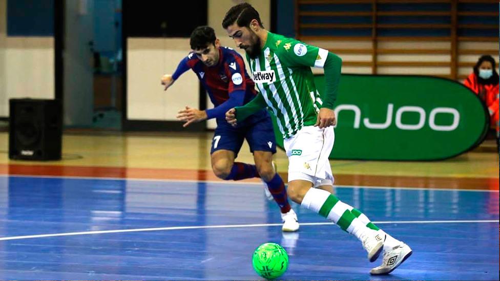 Imagen de un partido entre Real Betis y Levante de fútbol sala (FOTO: LNFS)
