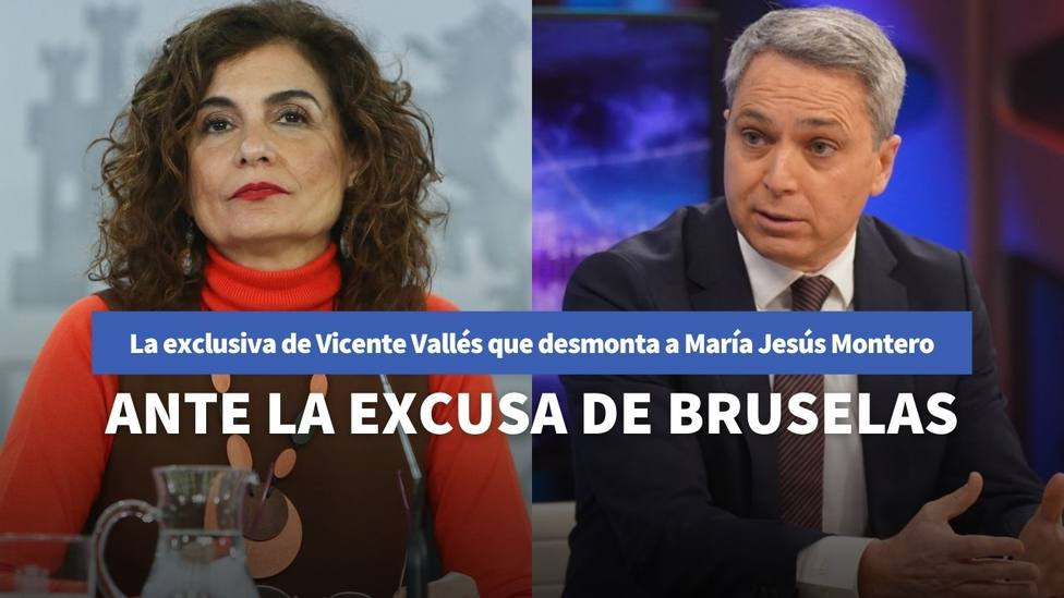 María Jesús Montero y Vicente Vallés
