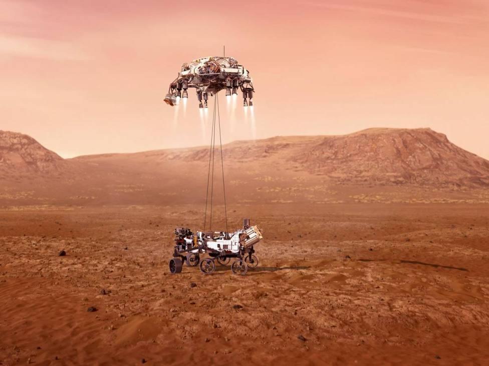 Rover Perseverance. NASA. Moncayo