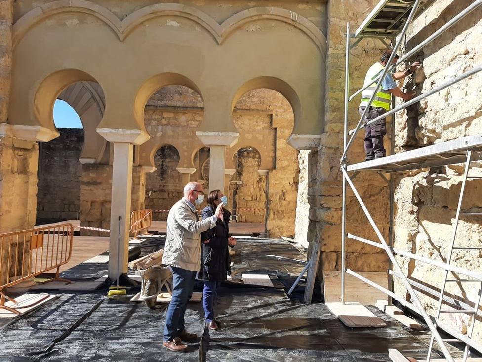 La Junta invierte más de 48.000 euros en conservación y mantenimiento en Medina Azahara
