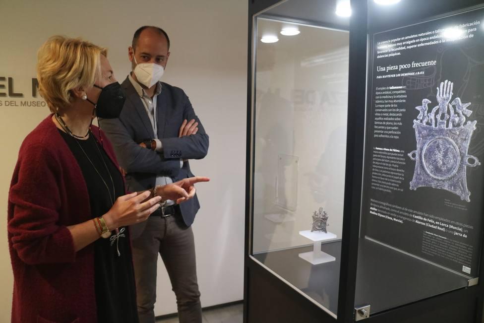 El talismán hallado en el Castillo de Tabernas que asombra a los almerienses