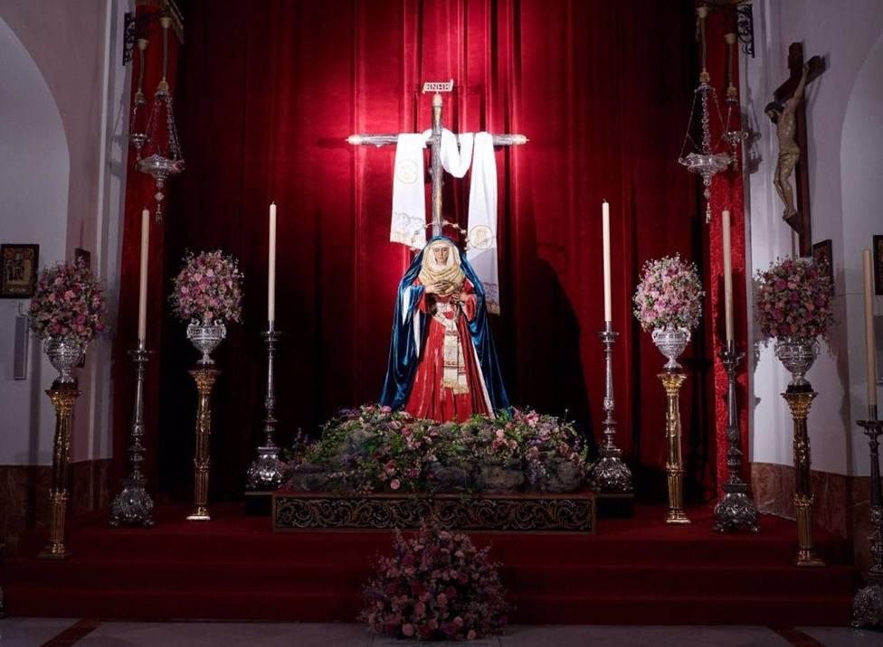 Altar extraordinario para la Semana Santa de 2021