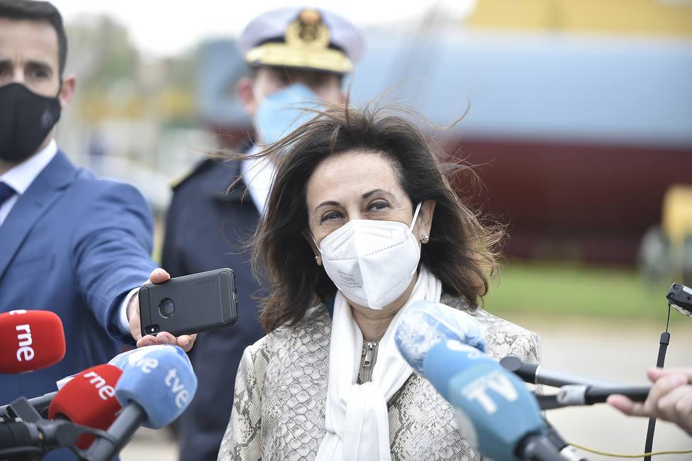 Margarita Robles recibirá en el Wanda Metropolitano la vacuna contra la covid-19 este jueves