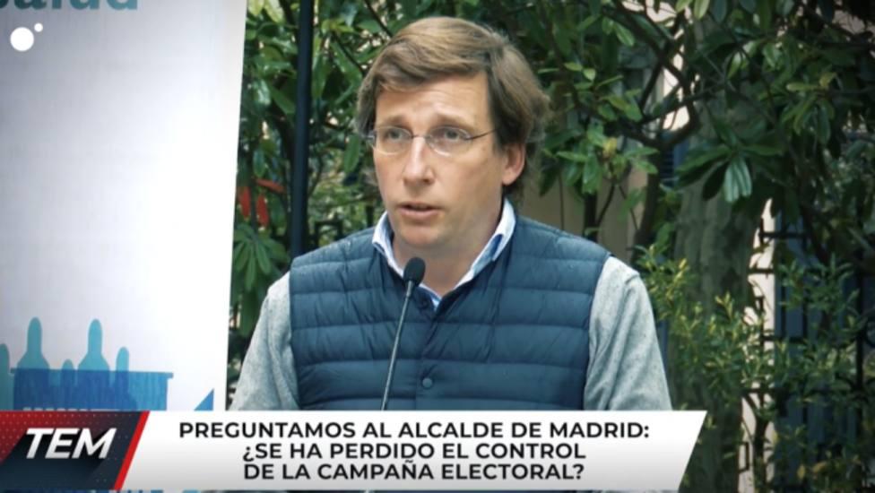 Una reportera de Todo es mentira se queda a cuadros con la repuesta de Martínez-Almeida: No lo puedo negar