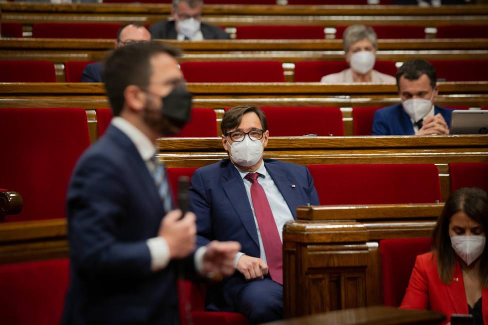 El PSC exige que se levante el veto independentista en Cataluña para evitar una repetición electoral