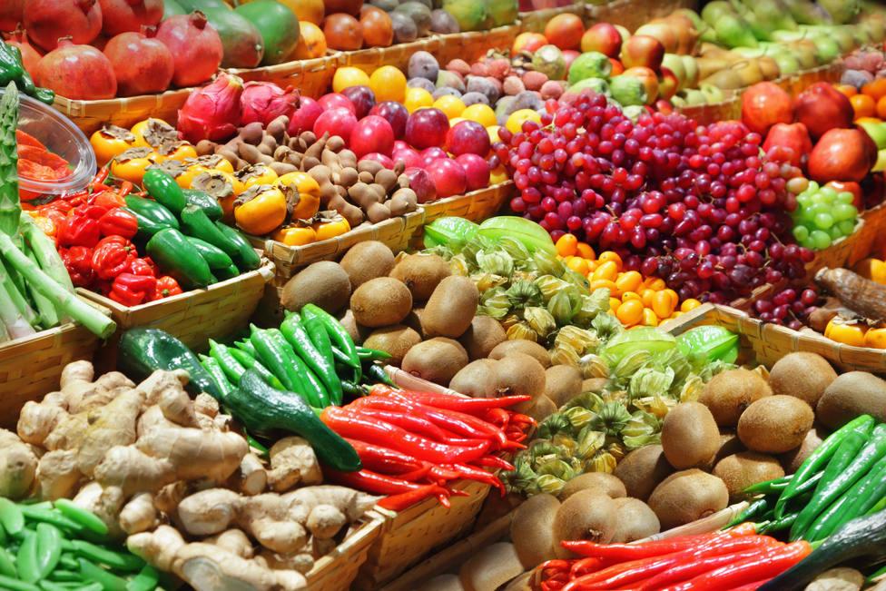 Fruta y vegetales