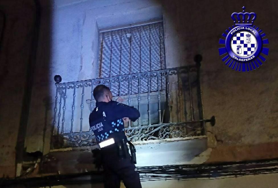 Sucesos.- Detenido en Valdepeñas cuando intentaba perpetrar un robo en una vivienda sin habitar