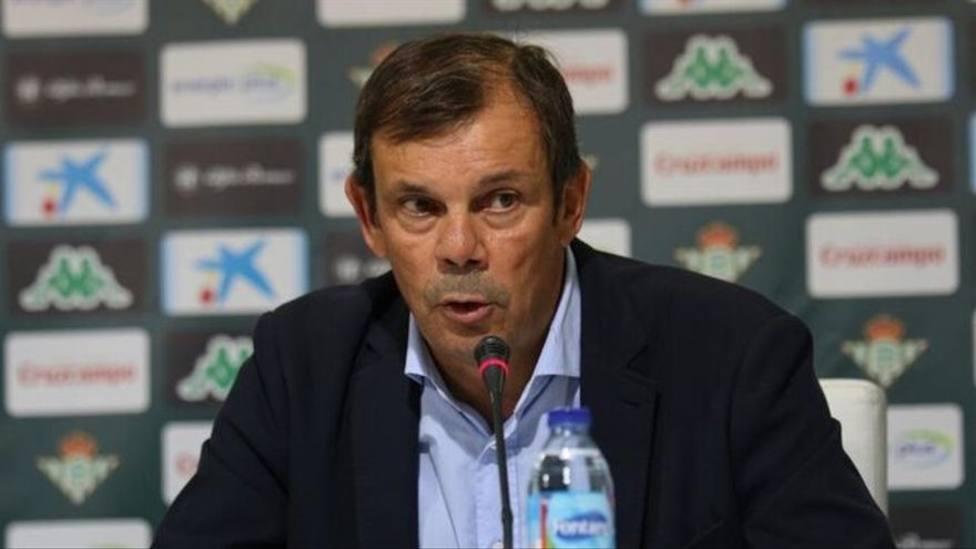 Imagen del director deportivo malagueño Juanma Rodríguez, que volverá a Unicaja.