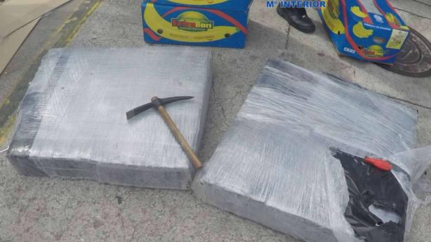 """Incautados 420 kilos de cocaína en Algeciras enviados a España por el método del """"gancho ciego"""""""