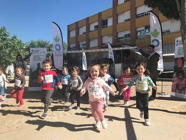18 colegios de Baleares corren contra la desnutrición infantil con Acción contra el Hambre