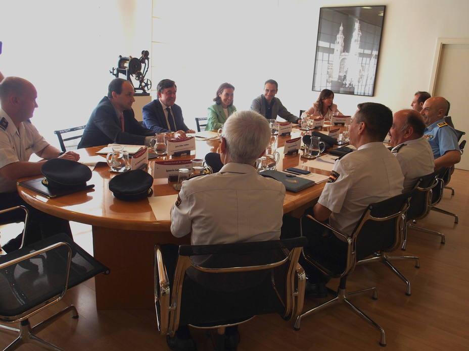reunión de la Junta de Seguridad Local