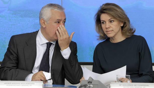 El marido de Cospedal encargó a Villarejo investigar a Javier Arenas