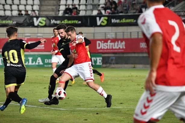 El Real Murcia salió derrotado de Nueva Condomina
