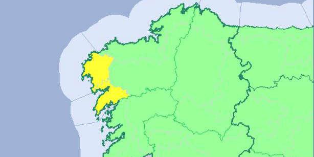 Alerta amarilla por lluvias