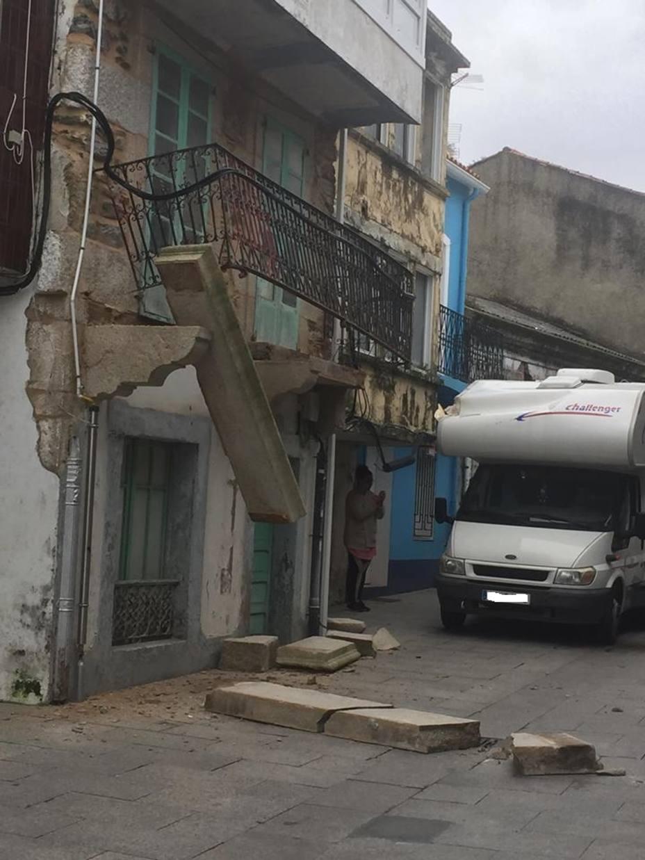 Autocaravana en la calle María 5 de Mugardos