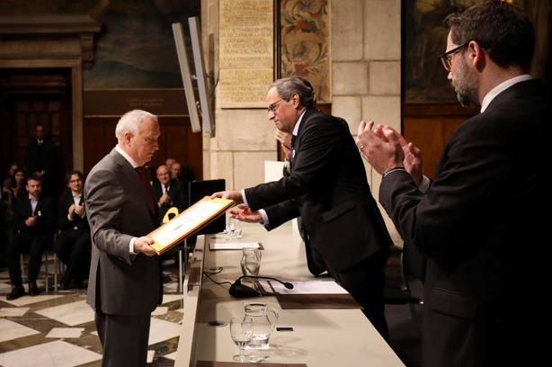 Forcadell avisa de que ni cárcel ni exilio ni represión frenarán el anhelo soberanista