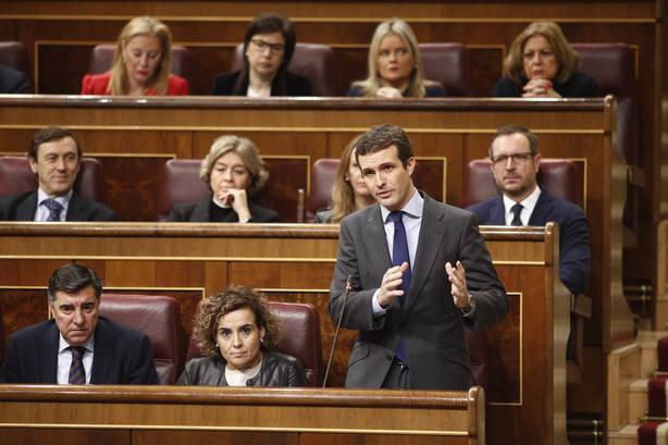 Casado defenderá la enmienda de totalidad del PP a los PGE con el juicio del procés y el relator como telón de fondo