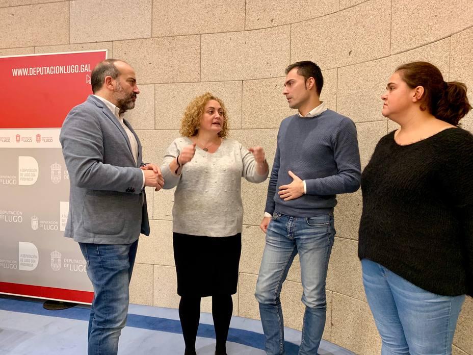 La diputadas del gobierno provincial de Lugo harán huelga el 8 de marzo