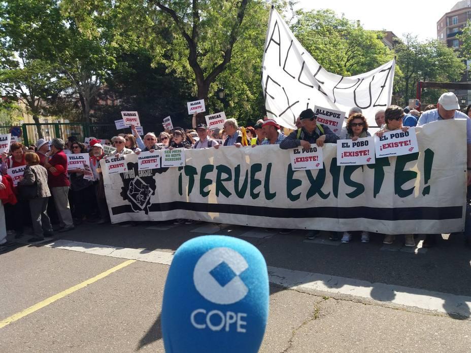 La España vaciada se manifestará en Madrid el 31 de marzo
