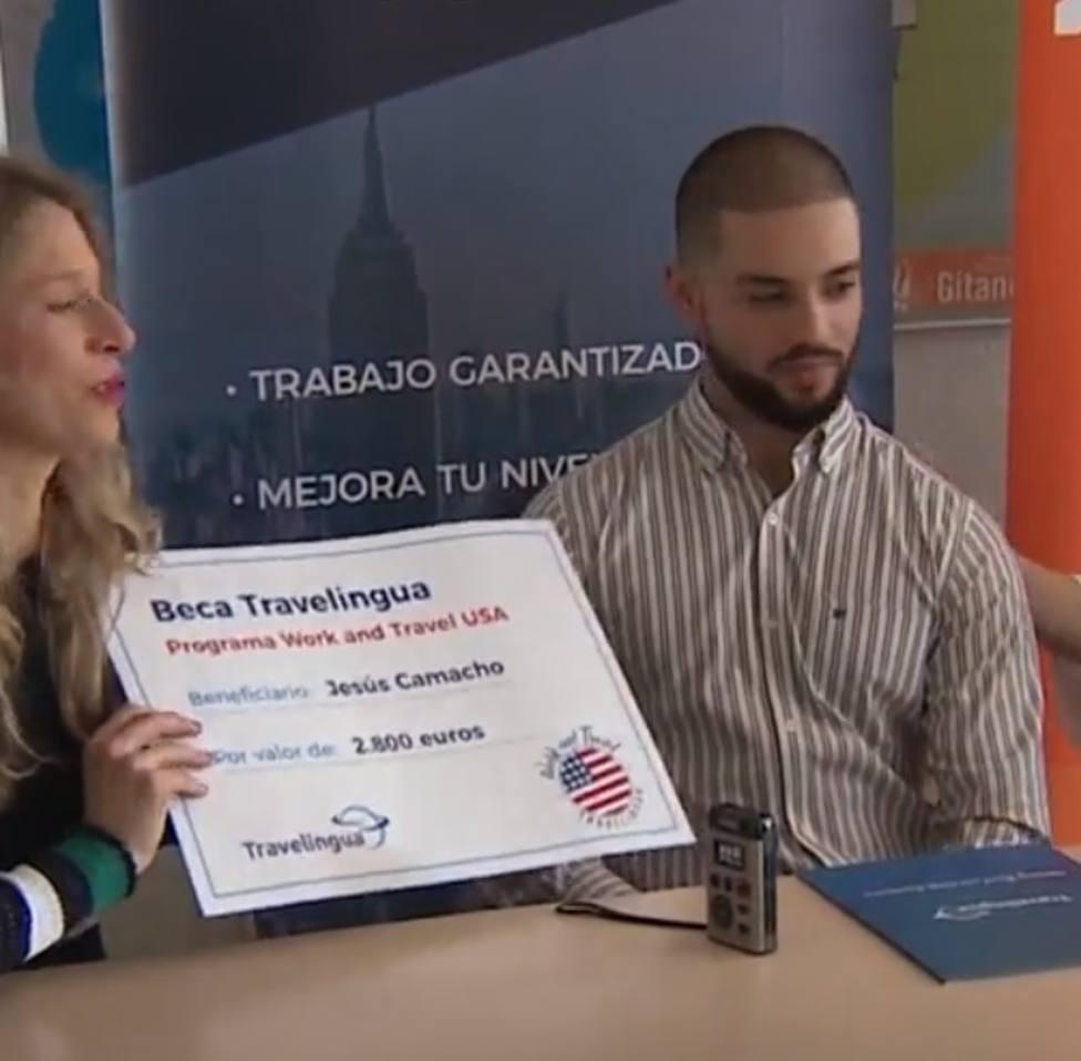 Un joven gitano, becado para estudiar y trabajar en Estados Unidos: Todo se puede conseguir