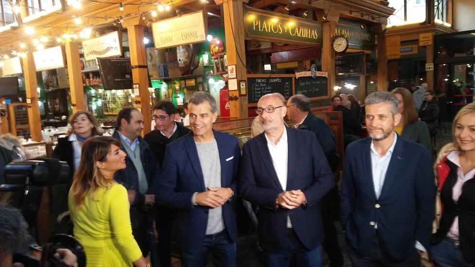 Toni Cantó dice que Cs es la alternativa ante un PP sonado y un PSOE podemizado y entregado al nacionalismo