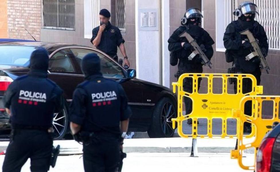 Once detenidos en un operativo contra el tráfico de heroína en Barcelona