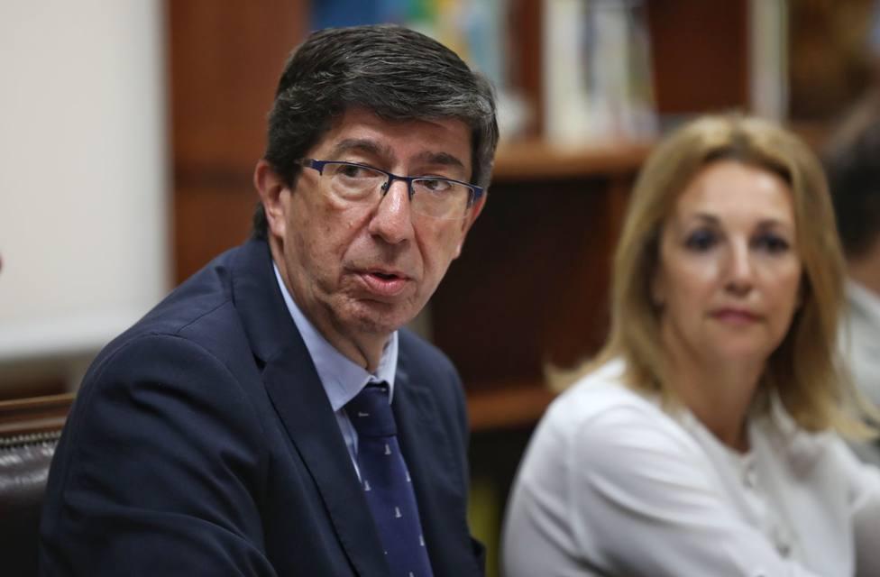 Marín resta importancia a las dimisiones y defiende que Cs está en el centro político y mantiene sus compromisos