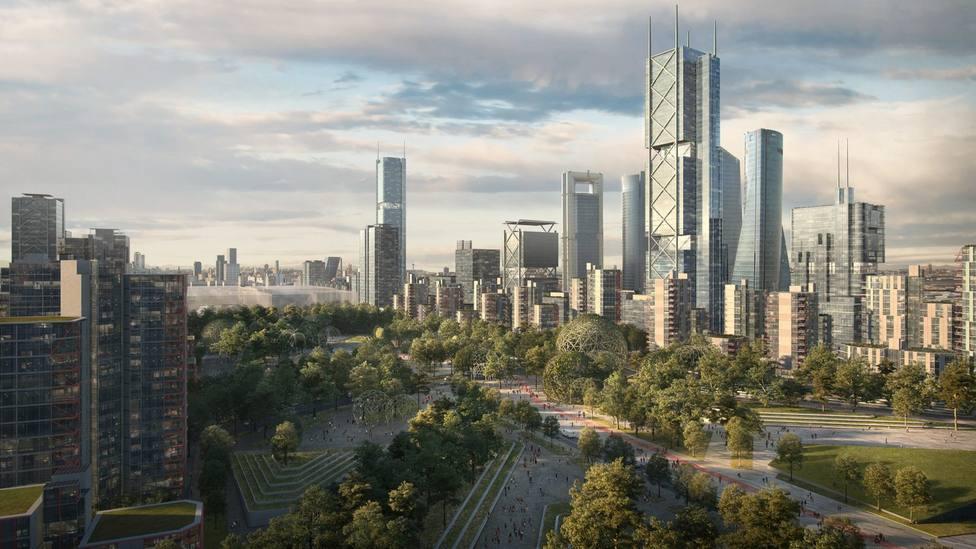 Un Madrid Nuevo Norte moderno y sostenible