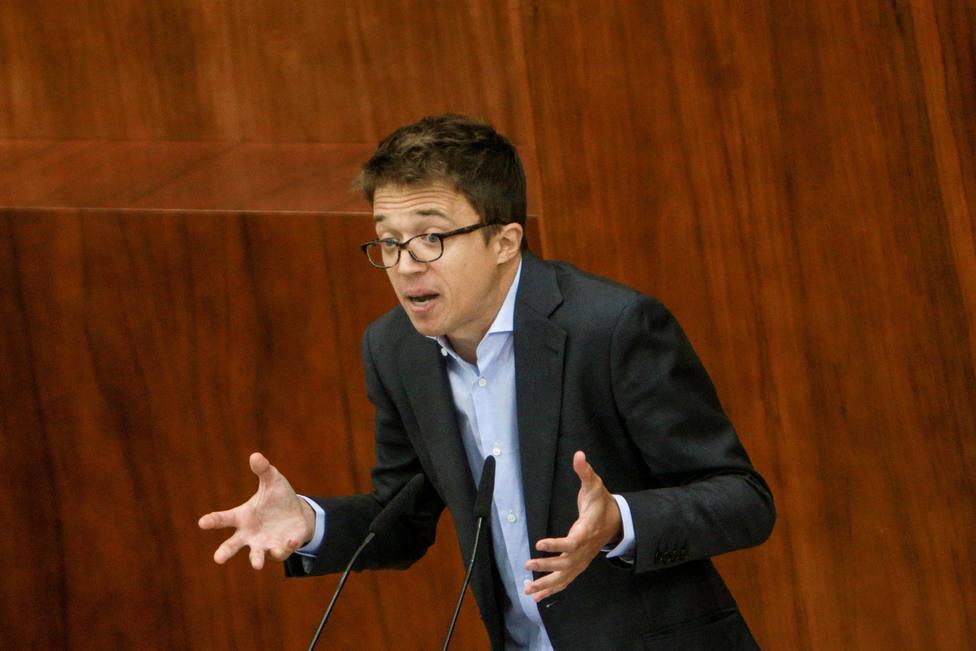 Errejón carga contra la elección de Enrique López y acusa al PP de usar las instituciones como su patrimonio familiar