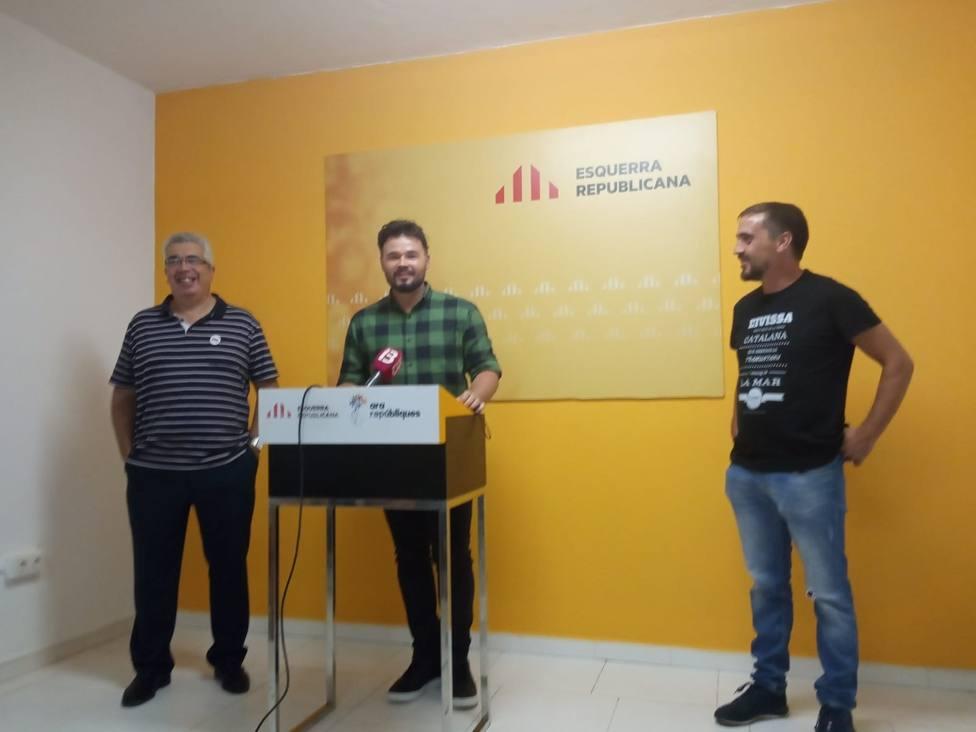 Rufián reconoce que ha habido diálogo con el PSOE: Es importante que dos partidos que representan tantas cosas hablen