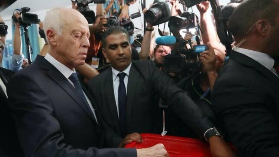 El ultraconservador Said, tras su victoria en las elecciones de Túnez: Supone una revolución