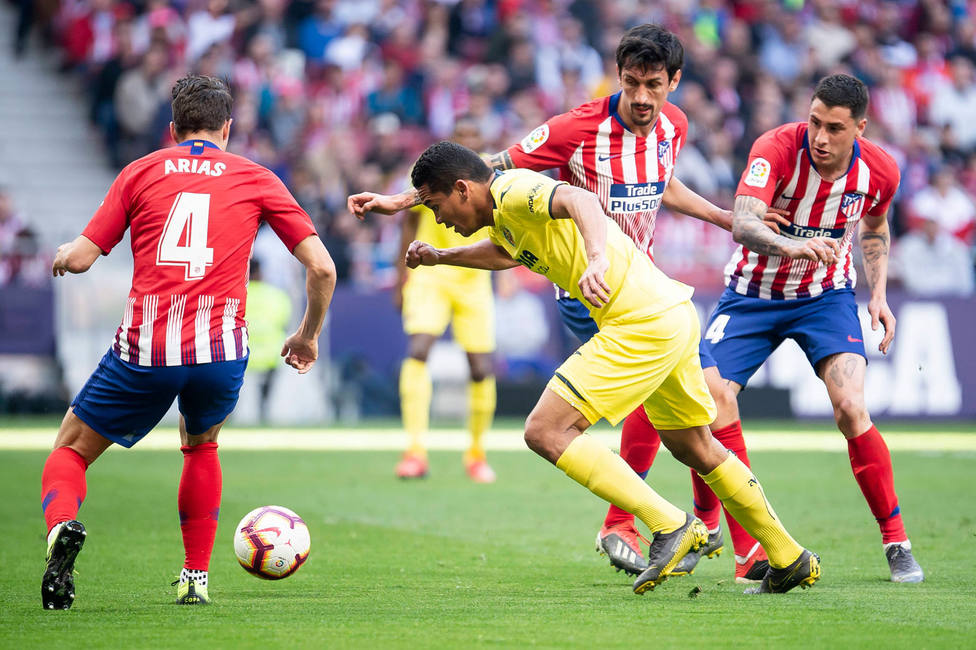 El Atlético de Madrid - Villarreal de la temporada 2018-19 (Cordon Press)