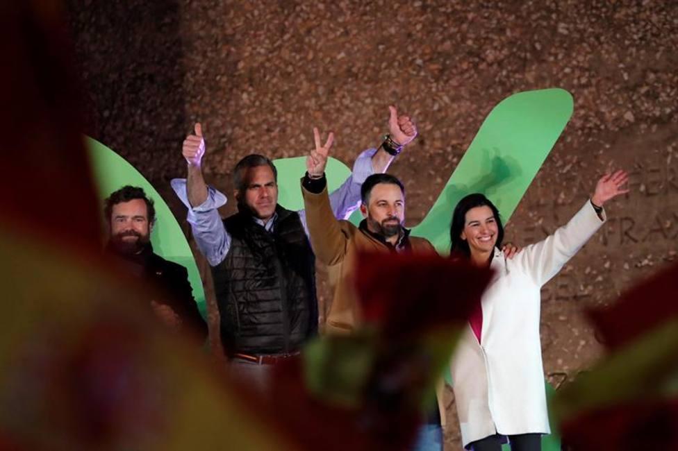 Abascal cierra la campaña llamando al voto para echar a Sánchez y las políticas totalitarias de la izquierda
