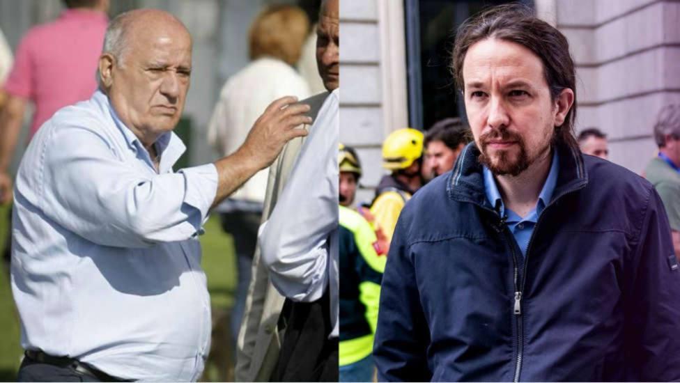 Cuando el Vicepresidente Iglesias criticó las donaciones de Amancio Ortega y se le volvió en contra