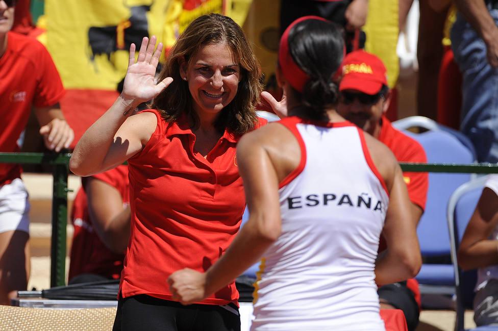Arantxa Sánchez Vicario y Mª José Martínez recibirán sendos homejanes durante la Fed Cup en La Manga