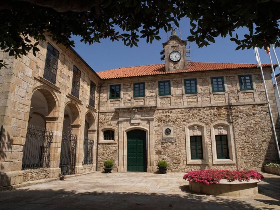 Fachada del Ayuntamiento de Ortigueira - FOTO: Concello de Ortigueira