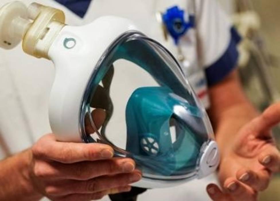 Cartagena y UPCT trasformarán máscaras integrales de buceo en material sanitario