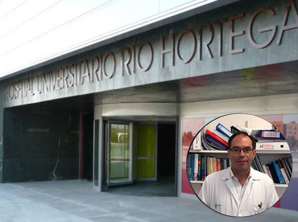 Pedro Enríquez, jefe de servicio de la UCI del Hospital Universitario Río Hortega de Valladolid