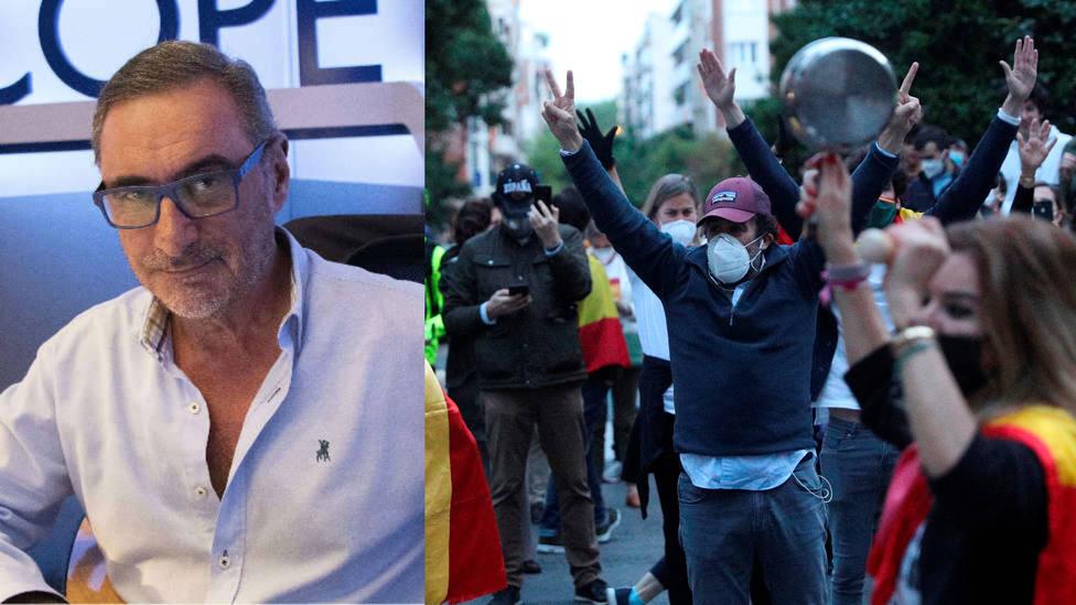 Herrera responde a los que llaman cayetanos a quienes se manifiestan contra Sánchez: Es clasismo asqueroso